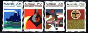 1973-NATIONAL-DEVELOPMENT-SET-OF-FOUR-STAMPS-MUH