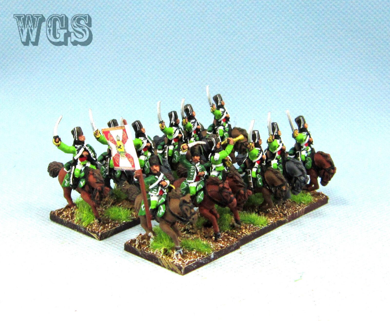15mm Syw Seven Years War un Pintado prusiano caballería Húsar (12 figuras) PB10