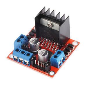 Dual-H-Bridge-DC-Stepper-Motor-Drive-Controller-Board-Module-Arduino-L298N