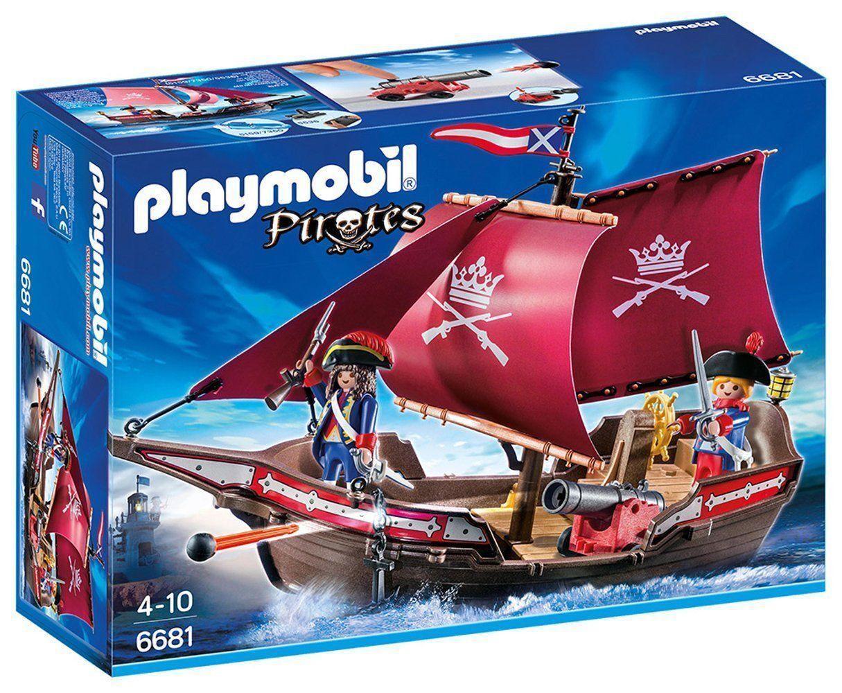 Playmobile Pirates fregata della marina reale