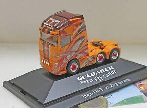 Herpa-110860-Volvo-FH-Gl-XL-6x2-Zugmaschine-Guldager-DK