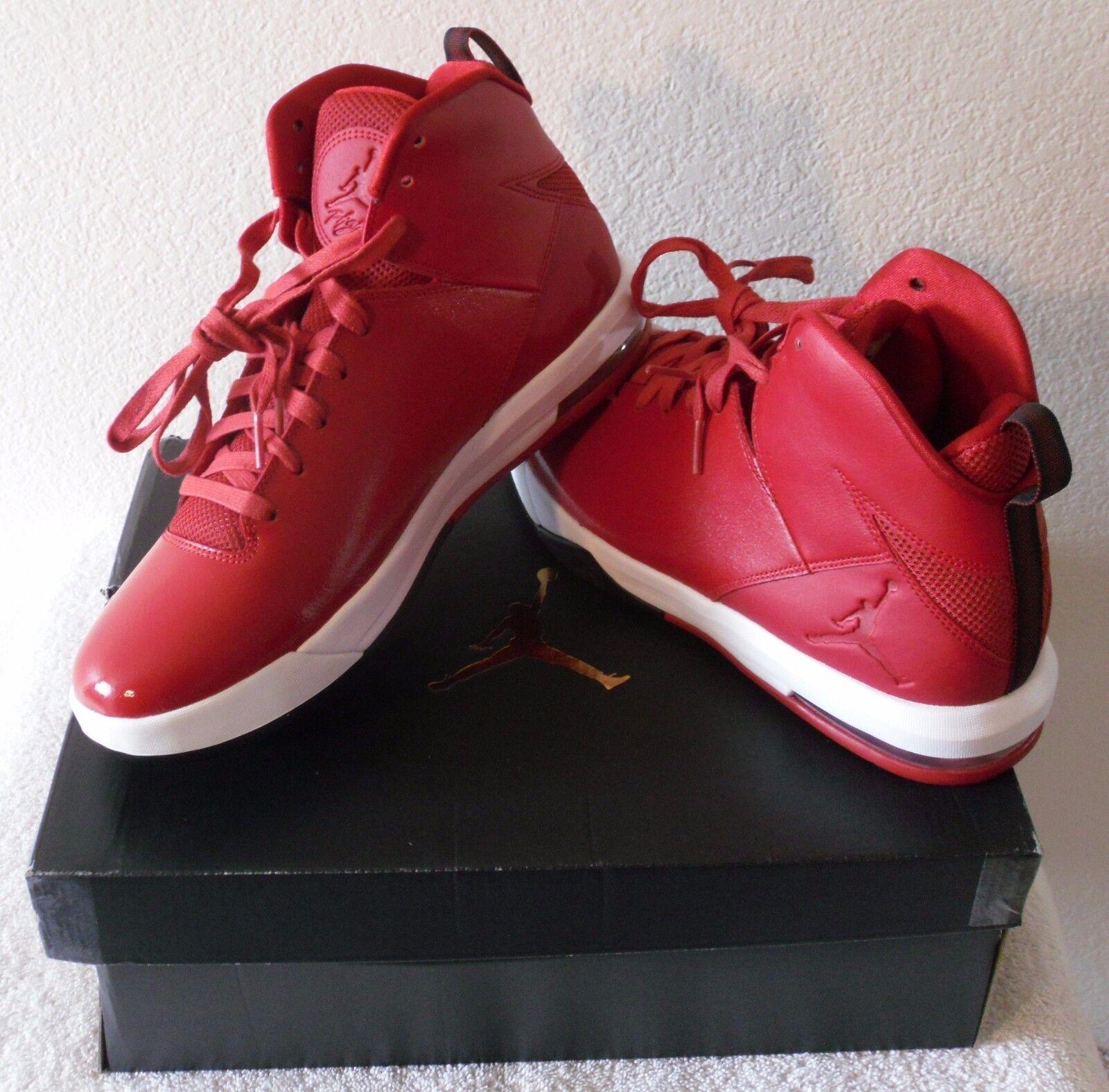 Nuevo en caja Nike para hombres Imminent zapatos para baloncesto Imminent hombres 10 Jordan Air Gimnasio Rojo/Negro MSRP 130 a9b82e