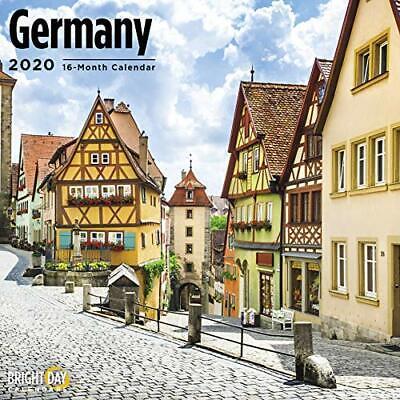 2020 WALL CALENDAR 601066 GERMANY BRAND NEW