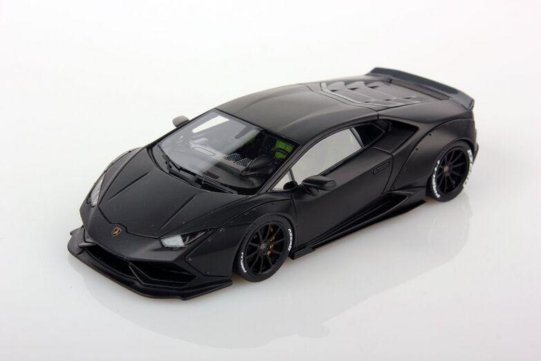 LOOKSMART LOOLS461C - Lamborghini Huracan LB performance black Nemesis 2016  1 43