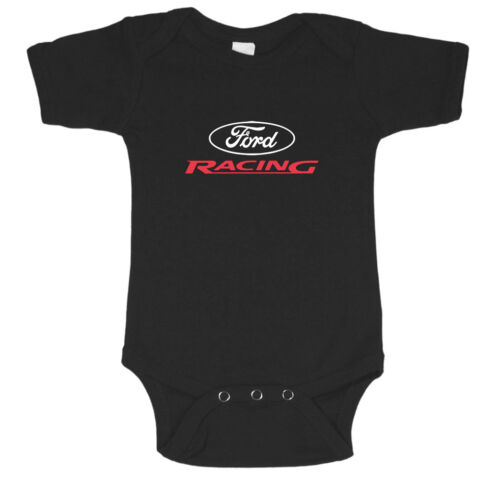 Ford Racing baby tee infant one piece newborn baby t-shirt cute Ford baby shirt