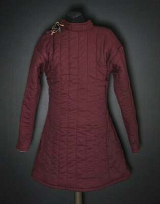Details about  /Best item Padded Cotton Gambeson Movies Theater Custome Sca larps
