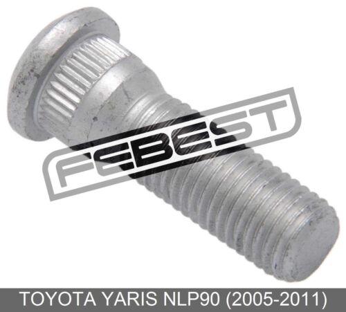 2005-2011 Wheel Bolt Lug Nut For Toyota Yaris Nlp90