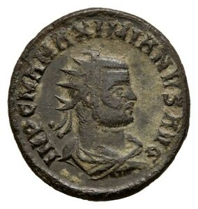 Warnen Hmm - Röm. Kaiserzeit Maximianus Herculius Antoninian Ca. 293 - 170721007 Attraktive Designs;