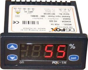 Feuchtigkeitsregler mit Sensor Hygrometer FOX 1H 12V