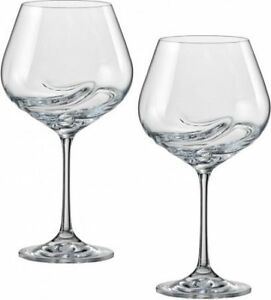 Image Is Loading Turbulence 570ml Crystal Wine Gles Set Of Two