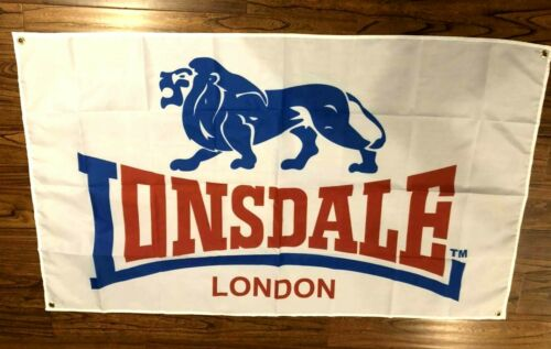 LONSDALE BOXING EQUIPMENT FLAG CLOTH SIGN 3/' X 5/'