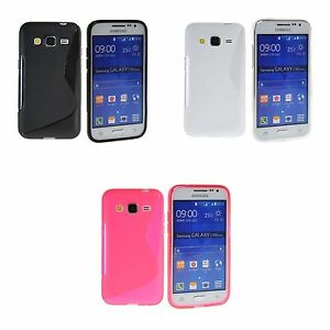 size 40 cba2d 5fa4f Details about FOR SAMSUNG GALAXY CORE PRIME S-LINE SILICONE GEL COVER CASE