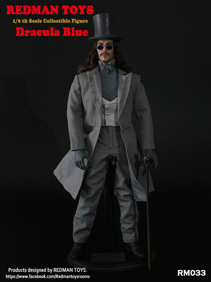 Dracula blueE 1 6 Collectible Figure by Redman Toys 06DRT02