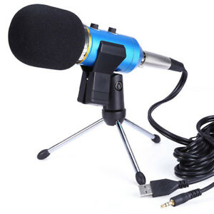New-Table-Microphone-Mic-Tripod-Stand-Adjustable-Metal-Desktop-Clamp-Clip-Holder