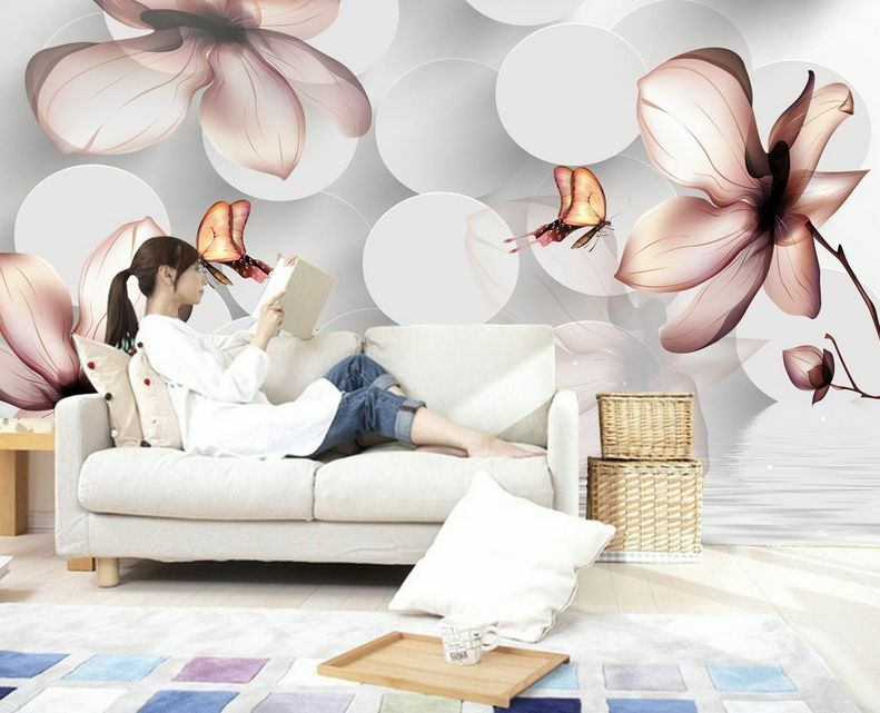 3D Flower Graffiti 854 Paper Wall Print Decal Wall Wall Murals AJ WALLPAPER GB