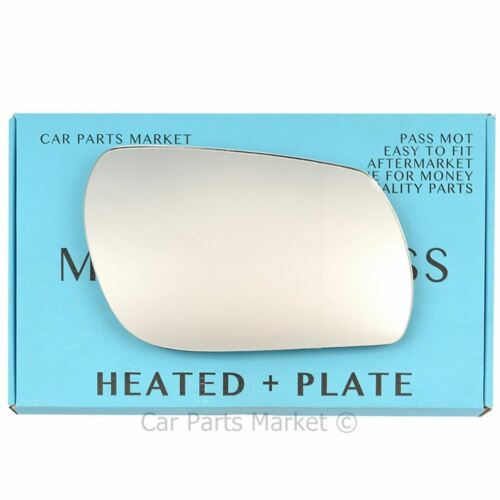 Right Driver side Wing door mirror glass for Mazda 3 03-09 heated plate