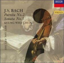 `Chung, Kyung-Wha`-`Bach: Partita No 2, Sonata No`  CD NEW