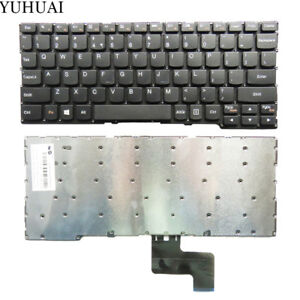 FOR-Lenovo-Yoga-300-11IBR-300-11IBY-Keyboard-US-Black-Without-Frame-PK1319O1A00