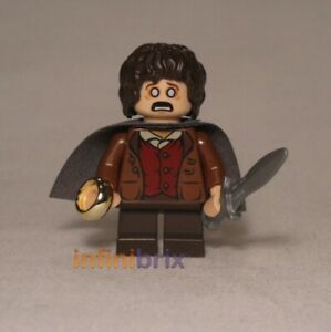 Lego-Frodo-Beutlin-Minifigur-aus-Set-9470-Herr-der-Ringe-NEU-lor003