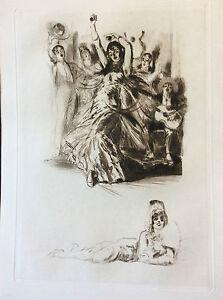 Almery-LOBEL-RICHE-1880-1950-Riche-Almeric-Espagne-Danseuse-Flamenco-attribue