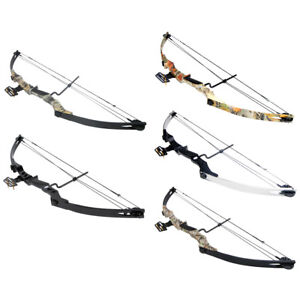 40-55-lb-Black-Sliver-Camouflage-Camo-Archery-Hunting-Compound-Bow-75-50