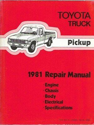 1984 Toyota DLX /& SR5 Pickup Truck Repair Manual OEM *** 2WD /& 4WD Factory