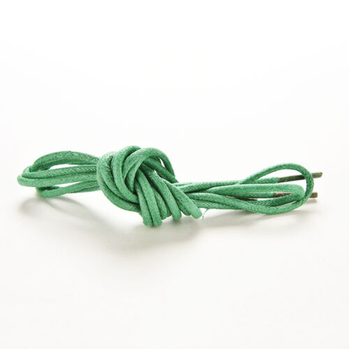 2x cire coton fine ronde lacets robe de cire cordon dentelle Brogue 75//85//90c X3