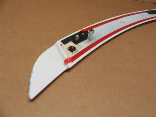 OEM 2015-2017 Ford Mustang Coupe Rear Spoiler Wing Raised Blade Oxford White