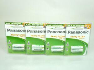 Akkus Neue Mode 8 X Panasonic Akku Aaa Ni-mh 1,2v 750mah Dect Ideal Für Telefon Haushaltsbatterien & Strom
