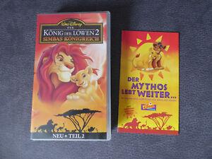 Walt-Disney-Koenig-der-Loewen-2-Simbas-Koenigreich-VHS-1994