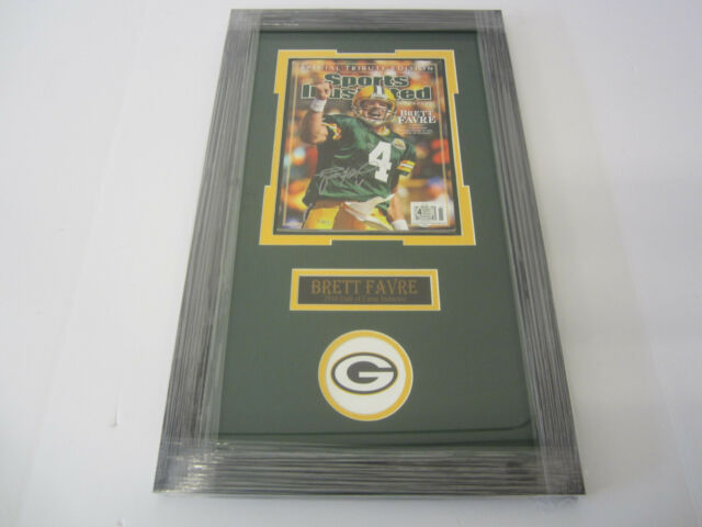 Brett Favre Framed Autographedhand Signed Green Bay Packers 8x10 Ebay