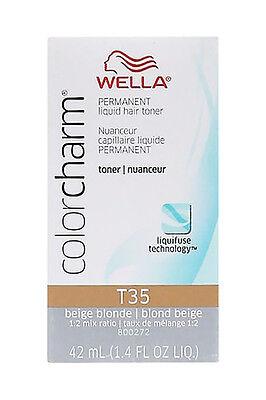 Wella Color Charm Toner T35 Beige Blonde