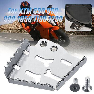 CNC Rear Brake Pedal Step Plate Tip for KTM 690 950 990 1050 1190 1290 ADV pedal