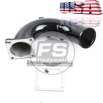 Red High Flow Intake Elbow Tube For 98.5-02 Dodge Ram 5.9L Cummins Diesel USA