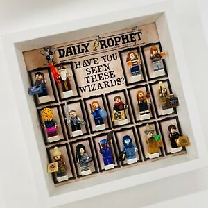 Affichage-Cadre-Pour-Lego-Harry-Potter-Series-2-Mini-Figurines-71028-no-figures-27-cm