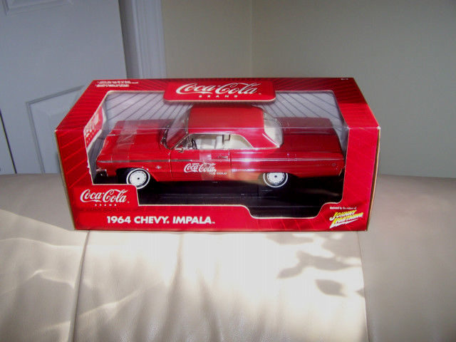 Johnny Weiß lightning - 1964 chevy impala - mib - 1   18 - skala