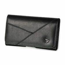 Horizontal Belt Clip Holster PU Leather Pouch Case Cover for iPhone 3 4 4G 4GS