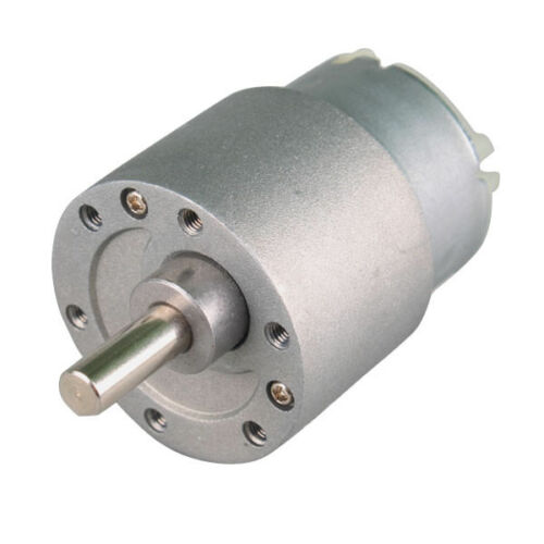 DC 12V 30 RPM 37mm Electric Mini GearBox Motor Fast Shipping