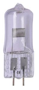 Stiftsockel-La<wbr/>mpe 12V Projektor-Lamp<wbr/>e  50W G/GY-6,35 Glüh-Birne 12 Volt 50 Watt