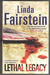 Lethal-Legacy-An-Alexandra-Cooper-Thriller-by-Linda-Fairstein-Paperback-2009