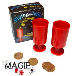 Téléportation de pièces - Flying coins - Tour de Magie