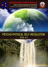 SYSTEMA SPETSNAZ SELF-DEVELOPMENT DVD: Psychophysical Self-Regulation, V. Starov