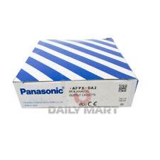 New In Box Panasonic Afpx Da2 Analog Output Module