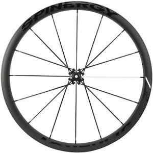 SPINERGY-Road-Front-Bike-Wheel-Z32-Disc-700c-Aero-Bladed-PBO-Spokes