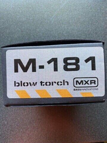 Bas overdrive/Distortion , MXR M181 Blow Torch