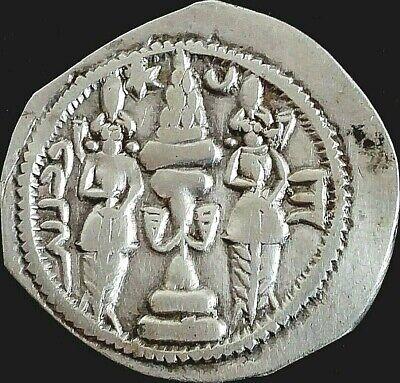 Gewidmet Drachm-drachme-sasanian-sasaniden-persien-persian-persia- Nr.16 Ein Unbestimmt Neues Erscheinungsbild GewäHrleisten