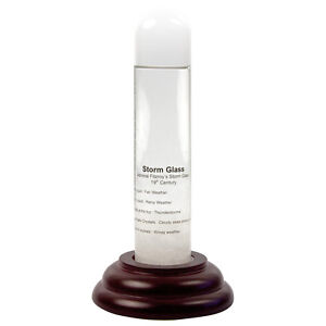 HMS Beagle Storm Glass Bottle Device Fitzroy Barometer Weather Forecaster