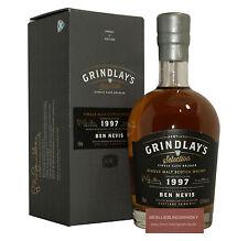 Grindlay's Ben Nevis 1997 Single Malt Whisky 52,6% vol. - 0,7 Liter