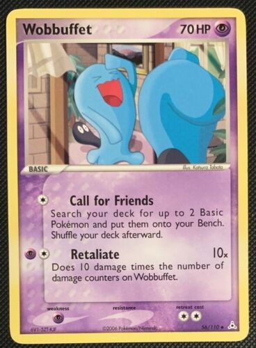 NM Wobbuffet 56//110 EX Holon Phantoms Pokemon Card