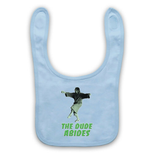 THE DUDE ABIDES UNOFFICIAL THE BIG LEBOWSKI COMEDY FILM BABY BIB CUTE BABY GIFT